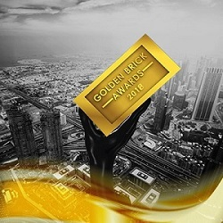 GOLDEN BRICKS AWARD - DUBAI